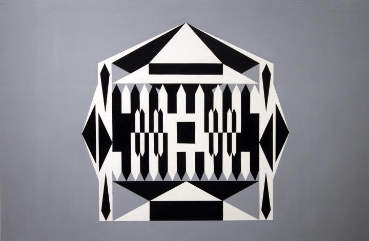 """Acrylic, 36"""" x 24"""", 2016"""