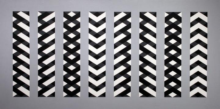 """Acrylic, 48"""" x 23.75"""", 2016"""